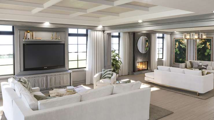 Family to Living Room