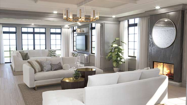 Living to Family Room